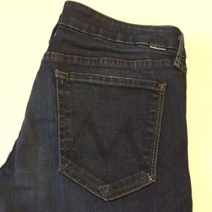 MOTHER The Looker Dark wash Skinny Jeans Size 30